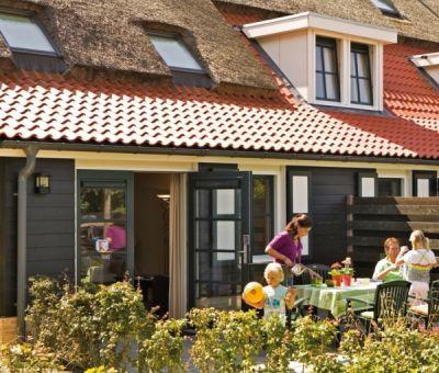 Vakantiehuis Burgh-Haamstede: Hoevewoning type 6D 6-personen