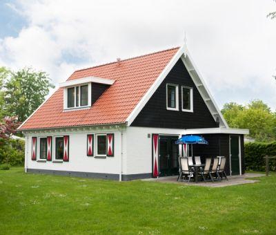 Vakantiehuis Burgh-Haamstede: Bungalow type 8EL Luxe 8-personen