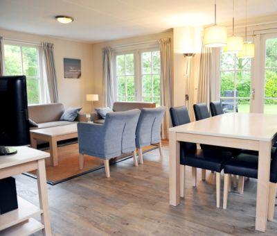 Vakantiehuis Burgh-Haamstede: Luxe Villa met sauna type 6DL 6-personen