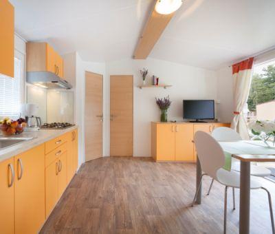 Mobilhomes huren in Vrsar, Istrie, Kroatie | mobilhomes voor 4 - 6 personen