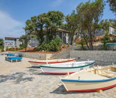 Mobilhomes huren in Rovinj, Istrie, Kroatie | mobilhomes voor 6 - 8 personen