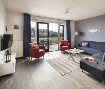 Vakantiehuis Volendam: comfort bungalow voor 7 personen