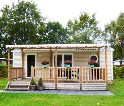 Vakantiehuis Oostvoorne: Chalet type Hortensia  4-personen