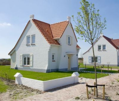 Vakantiehuis Cadzand-Bad: luxe vakantiehuis type CA4B voor 4 personen