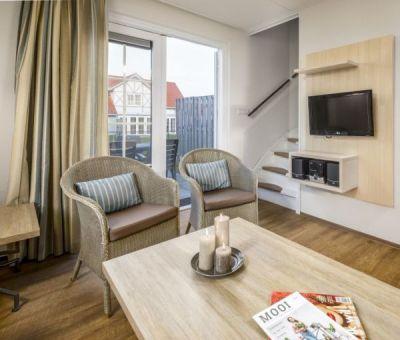 Vakantiehuis Cadzand-Bad: vakantiehuis type CA4G voor 4 personen