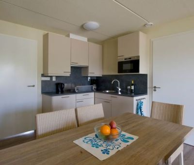 Vakantiehuis Cadzand-Bad: vakantiehuis type CA5G voor 5 personen