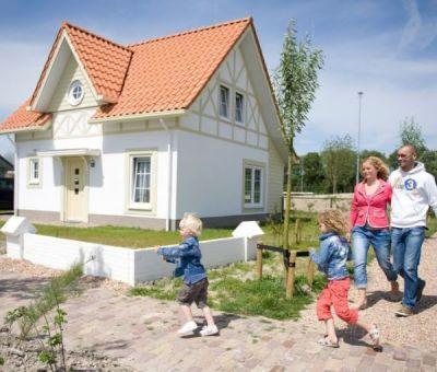 Vakantiehuis Cadzand-Bad: luxe vakantiehuis type CA6B voor 6 personen