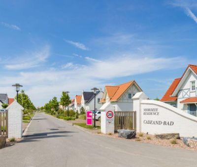 Vakantiehuis Cadzand-Bad: luxe villa type CAL9A voor 9 personen