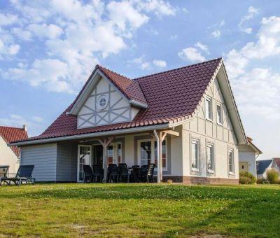 Vakantiehuis Cadzand-Bad: luxe villa type CAL10A voor 10 personen
