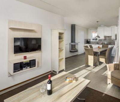Vakantiehuis Cadzand-Bad: luxe villa type CAL6B voor 6 personen