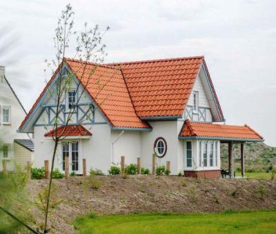 Vakantiehuis Cadzand-Bad: luxe villa type CAL8B voor 8 personen