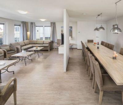 Vakantiehuis Cadzand-Bad: luxe villa type FV16L voor 16 personen