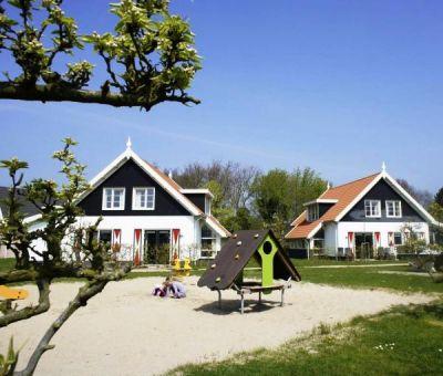 Vakantiehuis Burgh-Haamstede: Luxe Bungalow type 8E1 8-personen