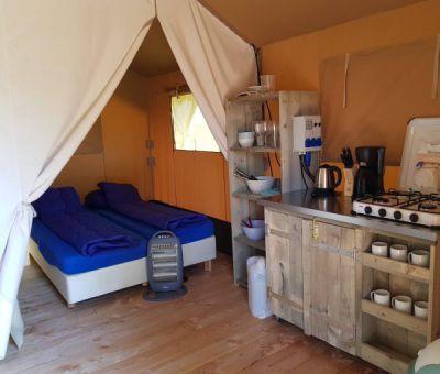 Vakantiewoningen huren in Terwolde a/d IJssel, Gelderland, Nederland   safaritent voor 6 personen