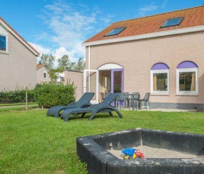 Vakantiehuis Renesse: Kinderbungalow type 7K 7-personen