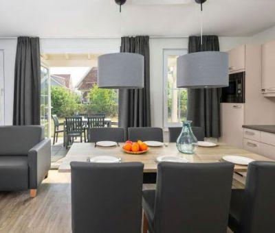 Vakantiehuis Arcen: Luxe villa type KVR6B Comfort 6-personen