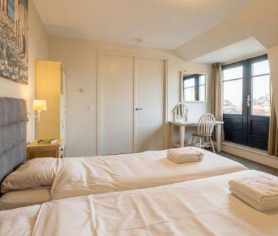 Vakantiehuis Domburg: Appartement Champagne 6-personen