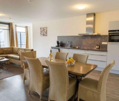 Vakantiehuis Domburg: Appartement Medoc Wellness 6-personen