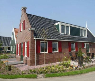 Vakantiehuis West-Graftdijk: Bungalow type Waterland 8-personen