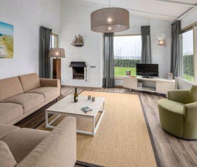 Vakantiehuis Kamperland: Bungalow type BA Comfort 6-personen