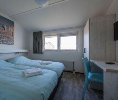 Vakantiehuis Kamperland: Luxe bungalow type NT Comfort 2+2-personen
