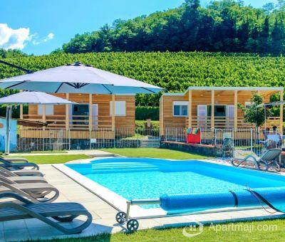 mobilhomes huren in Dornberk, Zuidwest Slovenie, Slovenie | vakantiehuisje voor 5 personen