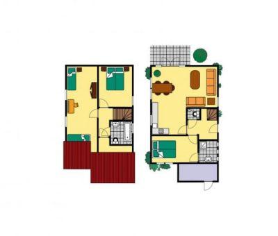 Vakantiehuis Breskens: bungalow type SCHE 6-personen