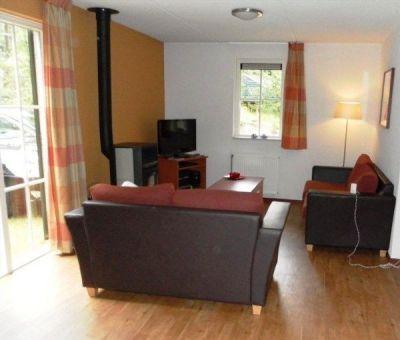 Vakantiehuis Eerbeek: Bungalow type 6L Luxe 6-personen