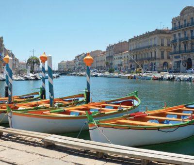 Vakantiewoningen huren in Sete, Languedoc Roussillon Herault, Frankrijk   vakantiehuis voor 9 personen