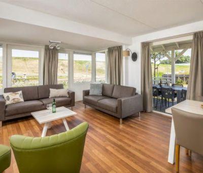 Vakantiehuis Bruinisse: villa Buitenhuis Comfort 8-personen