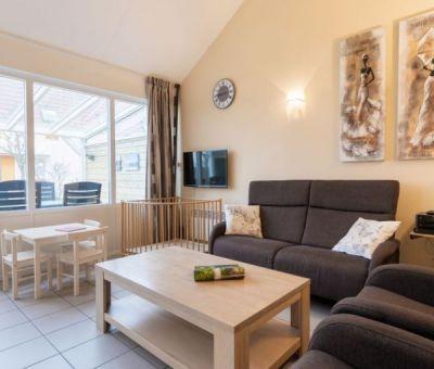 Vakantiehuis Oostkapelle: bungalow type OBVK voor 4+1 personen
