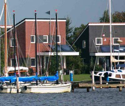 Vakantiewoningen huren in Koudum, Friesland, Nederland | luxe vakantiehuis met Wellness voor 6 personen