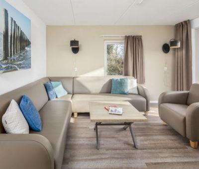 Vakantiehuis Renesse: Bungalow type SI8 Comfort 8-personen