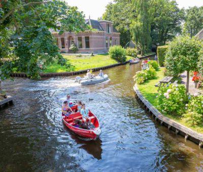 Vakantiepark Giethoorn: Chalet type Watersnip 2+2-personen