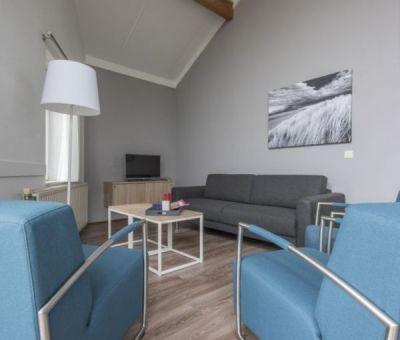 Vakantiehuis Domburg: Bungalow type Comfort 4A 4-personen
