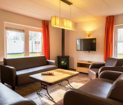 Vakantiehuis Borger: Bungalow type H10A 10-personen