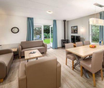Vakantiehuis Borger: Bungalow type H6A Comfort 6-personen