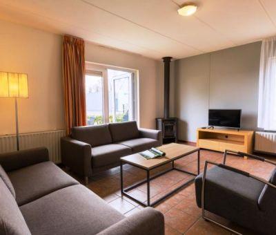Vakantiehuis Borger: Bungalow type H6A 6-personen