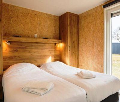 Vakantiehuis Borger: Chalet type Comfort Wellness 4-personen