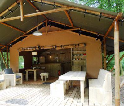 Vakantiewoningen huren in Echten, Drenthe, Nederland | safaritent voor 6 personen
