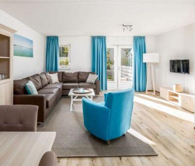 Vakantiehuis Breskens: Bungalow type ZWAL Comfort 6-personen