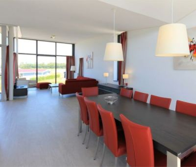 Vakantiehuis Arnemuiden, Veere: Luxe villa type Dijkvilla Ruscello 8-personen