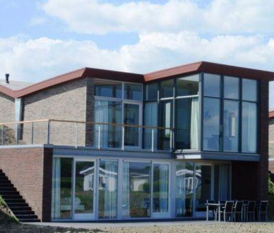 Vakantiehuis Arnemuiden, Veere: Luxe villa type Dijkvilla Ruscello Luxe 10-personen