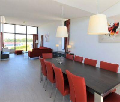 Vakantiehuis Arnemuiden, Veere: Luxe villa type Dijkvilla Ruscello Luxe 8-personen