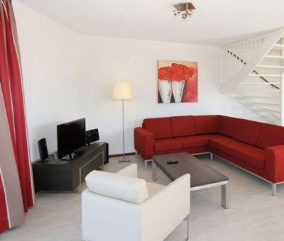 Vakantiehuis Arnemuiden, Veere: Luxe villa type Watervilla Pontille 8-personen