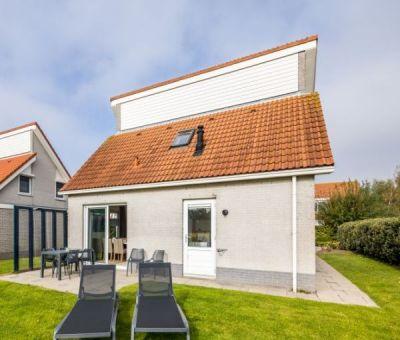 Vakantiehuis Scharendijke: villa met sauna type B6 Comfort voor 6 personen