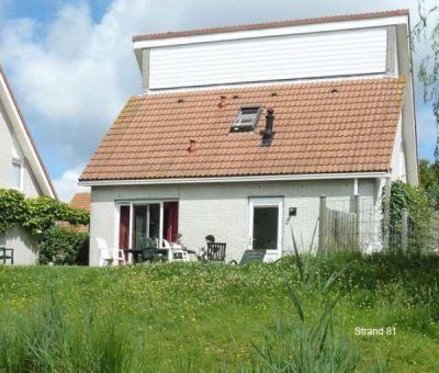 Vakantiehuis Scharendijke: villa met sauna type B8 voor 8 personen