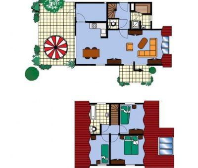 Vakantiehuis Scharendijke: Villa type Z5 voor 5 personen