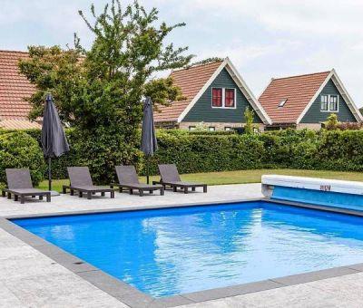 Vakantiehuis Burgh-Haamstede: Luxe Bungalow type 6DL 6-personen
