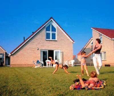 Vakantiehuis Breskens: luxe bungalow type ZWIL 6-personen